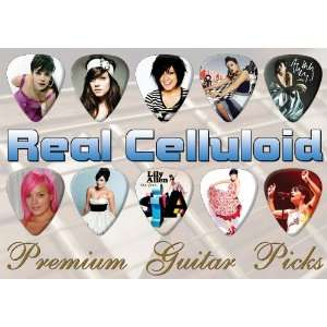 Lily Allen Premium Guitar Picks X 10 (0) Musical