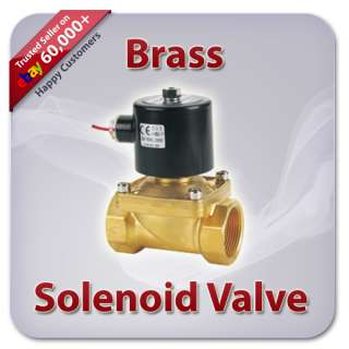 VDC Electric Switch Solenoid Valve   Water Air Pneumatic (USA)