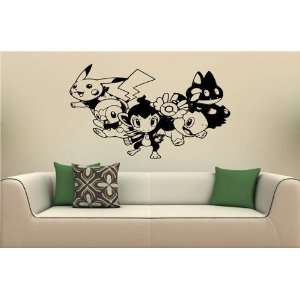 Pokemon Wall MURAL Vinyl Sticker Kids ROOM S. 1768