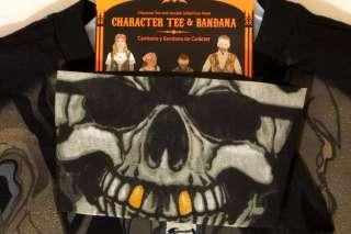 Boys Halloween Costume T Shirt Bandana Skull Pirate S 6