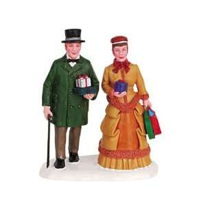 Lemax Christmas Village Collection Shoppers Figurine #62268