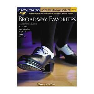 Hal Leonard Broadway Favorites Easy Piano Book and CD