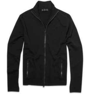 Ralph Lauren Black Label Merino Wool Blend Zip Up Knit  MR PORTER