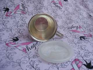 VTG Baby Sippy Cup Silver Plated Plastic Top Leonard