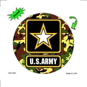 U.S. Army   Full Color Decals 4 1/2 Circular Everything