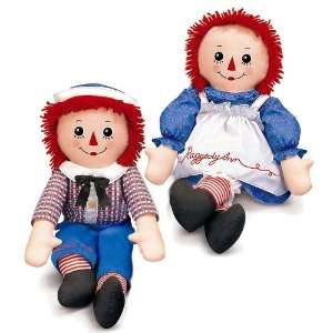 Russ Berrie Raggedy Andy Collectible Doll Toys & Games