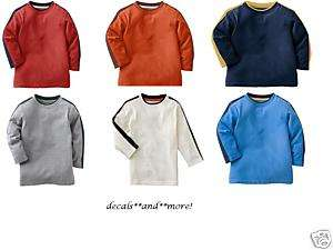 NWT~HUGE LOT SONOMA L/S FALL SHIRTS~6 TOTAL~3T~$60~NEW