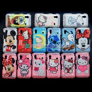 Crystal Hard Case Cover For Samsung S5830 Galaxy Ace Bling Rhinestone