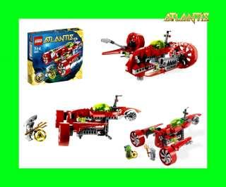 NEU LEGO Atlantis 8060 Turbojet