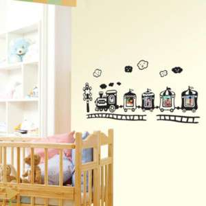 Dream Train Adhesive WALL DECOR REMOVABLE STICKER DECAL