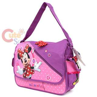 Disney Minni Mouse School Messenger Bag Diaper Bag 2