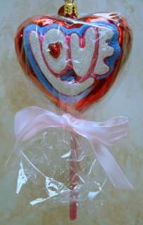 RADKO To The One I Love ORNAMENT Gem VALENTINES 005330