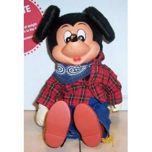 Disney MICKEY MOUSE plush stuffed toy Rare Vintage