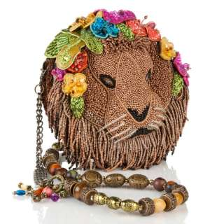 Mary Frances Beaded Lion Hand Bag Purse BRAND NEW WITH TAGS
