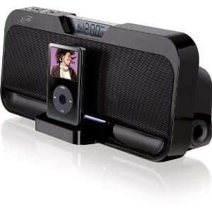 NEW iLive IS208B Stereo Speaker System iPod Dock Black