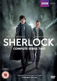 Sherlock   Complete BBC Series / Season Two (2)   BRAND NEW DVD BOXSET