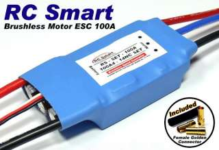 Helicopter / Aircraft 100A Brushless Motor Speed Controller ESC SL019