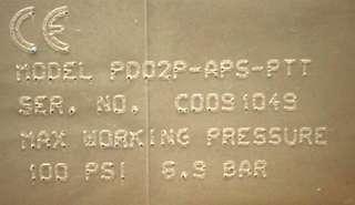 """ARO PD02P APS PTT ¼"""" Non Metallic Diaphragm Pump"""