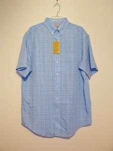 LABEL by Roundtree & Yorke Non Iron Placid Blue Dress Shirt