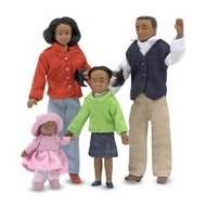 Melissa and Doug 2689 Doll Family  African American