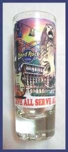 Hard Rock Hotel SINGAPORE Tall Shot Glass   Sentosa