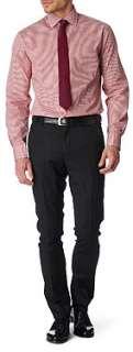 PAUL SMITH LONDON Gingham slim fit single cuff shirt