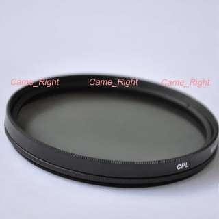 67mm Metal ring Circular Polarizing Lens Filter CPL
