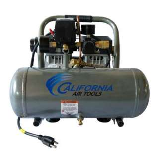 Ultra Quiet and Oil Free 3/4 HP 1.6 Gal. Aluminum Tank Air Compressor