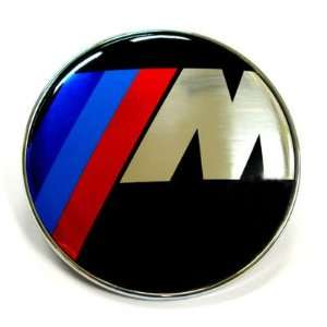 BMW M Power 82mm Bonnet Or Boot Badge Hood / EMBLEM MOTORHAUBE