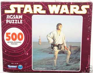 Vintage Miscellaneous Kenner Luke Skywalker (Purple Box) Jigsaw Puzzle