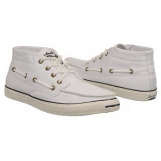 Athletics Converse Mens Jack Purcell Boat Mid White/Off White Shoes