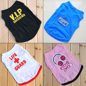Dog Summer Vest Tank shirt Sweatershirt Dog Clothes