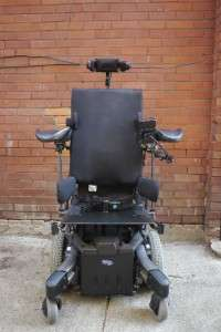 Invacare Storm TDX5 electric wheelchair with Motion Concepts power