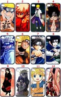Naruto Anime Manga Apple iPhone 4 Case (Black Edge)