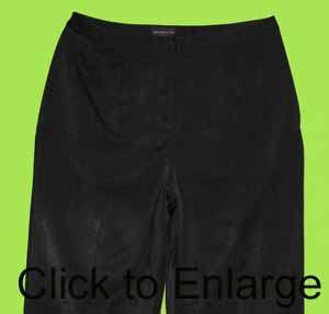 Two Twenty Five sz 14 womens Black Dress Pants Slacks 7D11