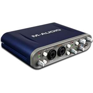 Audio Fast Track Pro   4 x 4 Mobile USB Audio/MIDI Interface with
