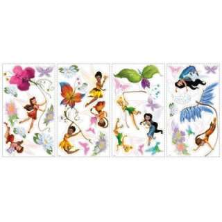 RoomMates Disney Fairies Peel and Stick Wall Decals RMK1493SCS at The