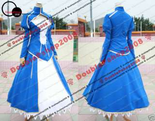 Fate Stay Night Saber Cosplay Costume