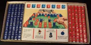 1961 ORIGINAL STRATEGO GAME MILTON BRADLEY COMPLETE but BOX DAMAGED