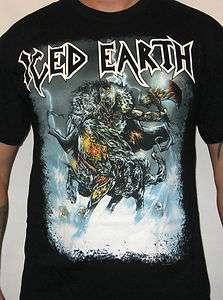 ICED EARTH (stormrider) Mens Album Cover T Shirt