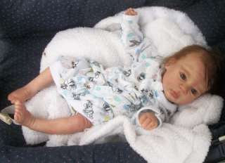 Toby Morgan reborn baby girl life like doll fake baby Limited Edition