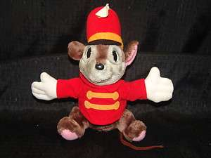 Vintage Disney Dumbo Plush TIMOTHY MOUSE Stuffed Animal