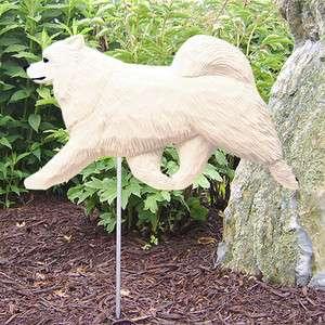 Samoyed Dog Figure Garden Stake. Home Yard & Garden Dog Breed Products