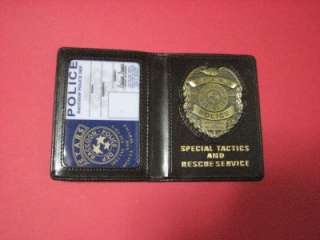 Resident Evil STARS ID Badge Metal Emblem Blank ID