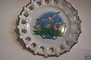 "Decorative Utah Wall Mounted Display Plate 7"""