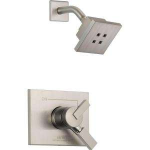 Delta Vero Single Handle 1 Spray Shower Faucet in Stainless with Dual