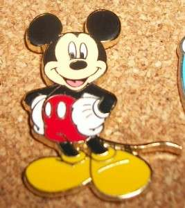 Disney Mini Mickey Mouse with hands on hips pin