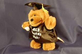 Dan Dee Singing Wild thing Plush Graduation Bear