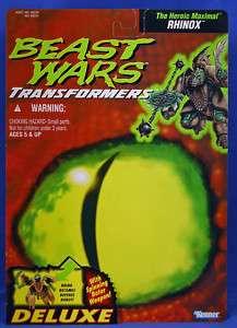 Transformers Beast Wars Rhinox Proof Card Prototype