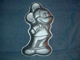 MICKEY MOUSE Standing Wilton Cake Pan used 1978 Disney